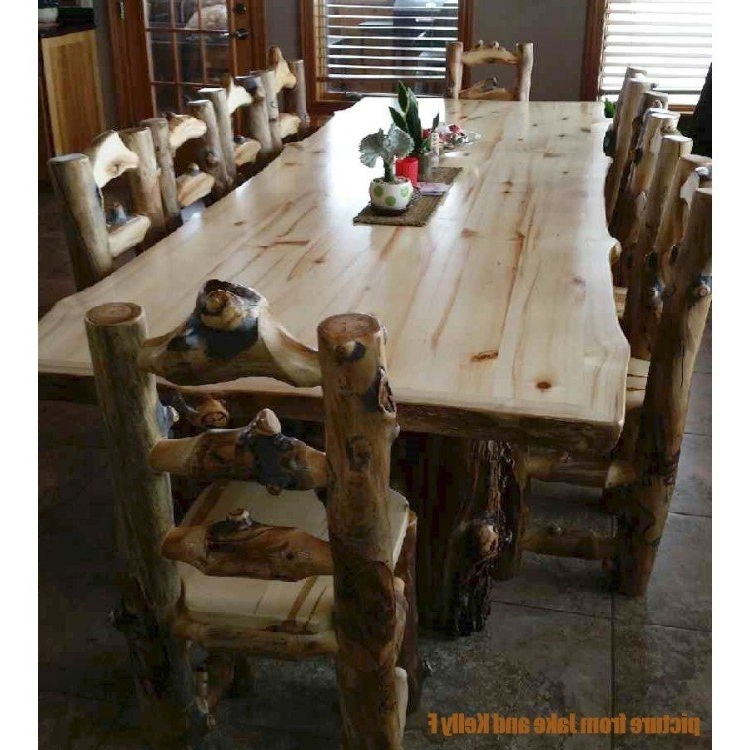 Aspen Dining Tables With Best And Newest Aspen Lodge 6 Foot Dining Table (Gallery 2 of 20)
