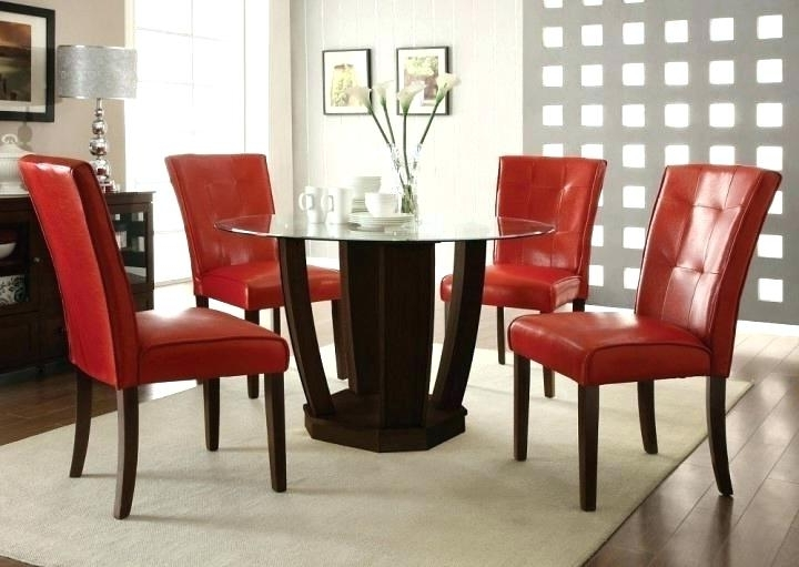 Astounding Red Dining Room Table Oak Runner And Chairs Modern Lovely Within Famous Red Dining Table Sets (Gallery 17 of 20)