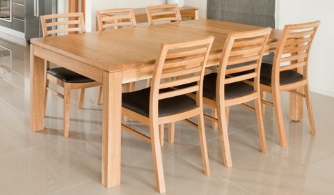 Attra Oak Dining – Furniture Ranges – Browsecategory – Sorensen For Widely Used Oak Dining Suite (View 1 of 20)