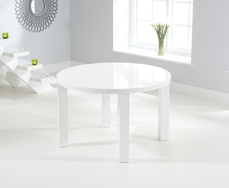 [%ava 120cm Round High Gloss Dining Table [255053] – £281.00 : Norwich With Current High Gloss Dining Furniture|high Gloss Dining Furniture With Regard To 2017 Ava 120cm Round High Gloss Dining Table [255053] – £281.00 : Norwich|best And Newest High Gloss Dining Furniture For Ava 120cm Round High Gloss Dining Table [255053] – £281.00 : Norwich|latest Ava 120cm Round High Gloss Dining Table [255053] – £ (View 19 of 20)