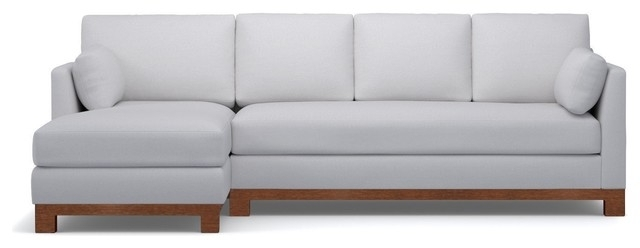 Avalon 2 Piece Sectional Sofa – Contemporary – Sectional Sofas – Throughout Best And Newest Harper Foam 3 Piece Sectionals With Raf Chaise (View 13 of 15)