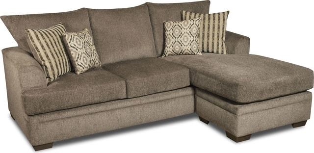 Avery 2 Piece Sectionals With Raf Armless Chaise Throughout Well Known Avery 2 Piece Sectional Sofa – Transitional – Sectional Sofas – (View 5 of 15)