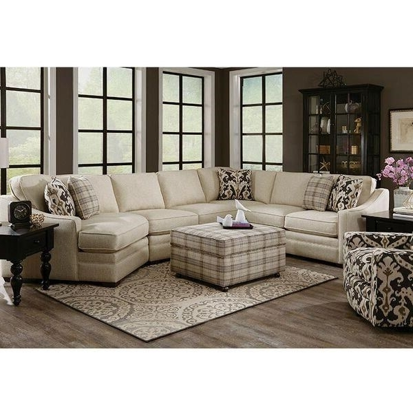 Avery 2 Piece Sectionals With Raf Armless Chaise With Popular Craftmaster F9 Custom Collection <B>Customizable</b> 3 Piece (Gallery 12 of 15)