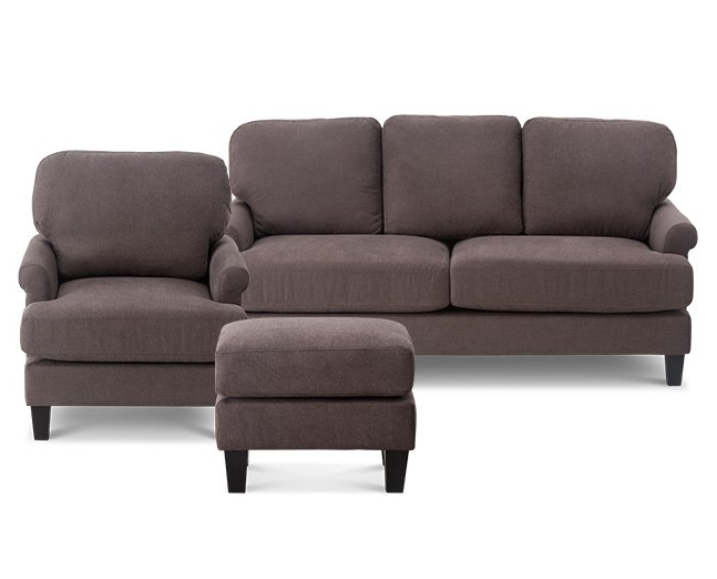 Avery 2 Piece Sectionals With Raf Armless Chaise With Regard To Current Living Room Furniture, Sofas & Sectionals (Gallery 10 of 15)