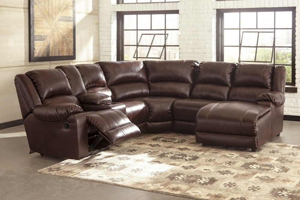 Axis Ii Leather 3 Piece Sectional Sofa Pertaining To Well Known Calder Grey 6 Piece Manual Reclining Sectionals (View 6 of 15)