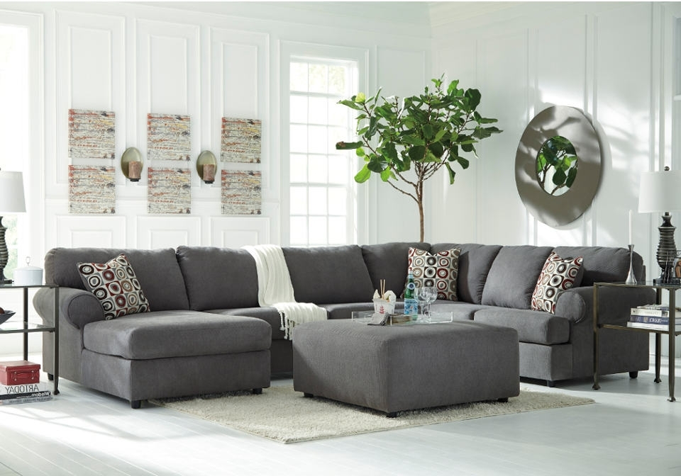 Baci Living Room With Recent Mcdade Graphite 2 Piece Sectionals With Laf Chaise (View 13 of 15)