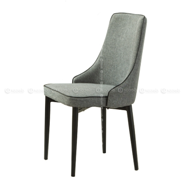 Baker Upholstered High Back For Fashionable High Back Dining Chairs (View 4 of 20)