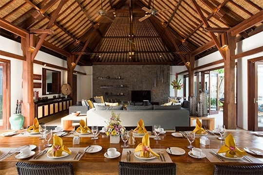 Bale 7 Piece Dining Sets With Dom Side Chairs Within Most Up To Date Villa Lilibel, Seminyak, Bali Villa (View 6 of 20)
