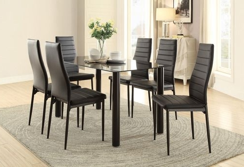 Bale Rustic Grey 6 Piece Dining Sets With Pearson Grey Side Chairs Inside Most Popular 16 Best Masa Images On Pinterest (View 6 of 20)