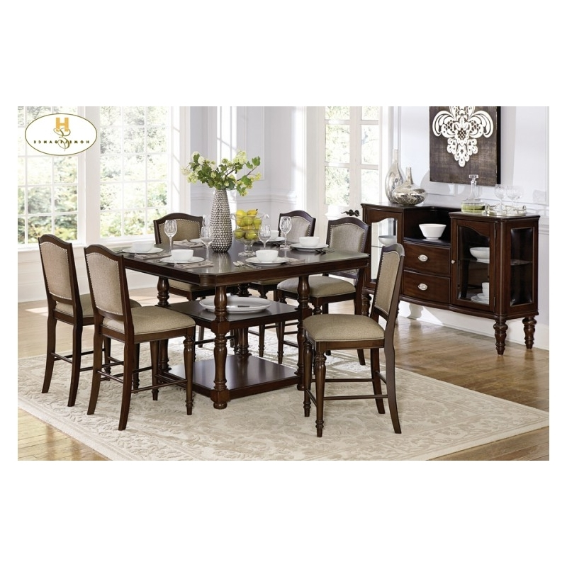 Bale Rustic Grey Dining Tables With Famous Marston 5 Pc Dining Table (View 13 of 20)