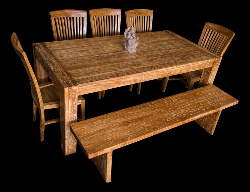 Bali Dining Sets Regarding Most Recently Released Bali Teak Furniture Portland: Quality Teak Wood Chairs & Stools (View 18 of 20)