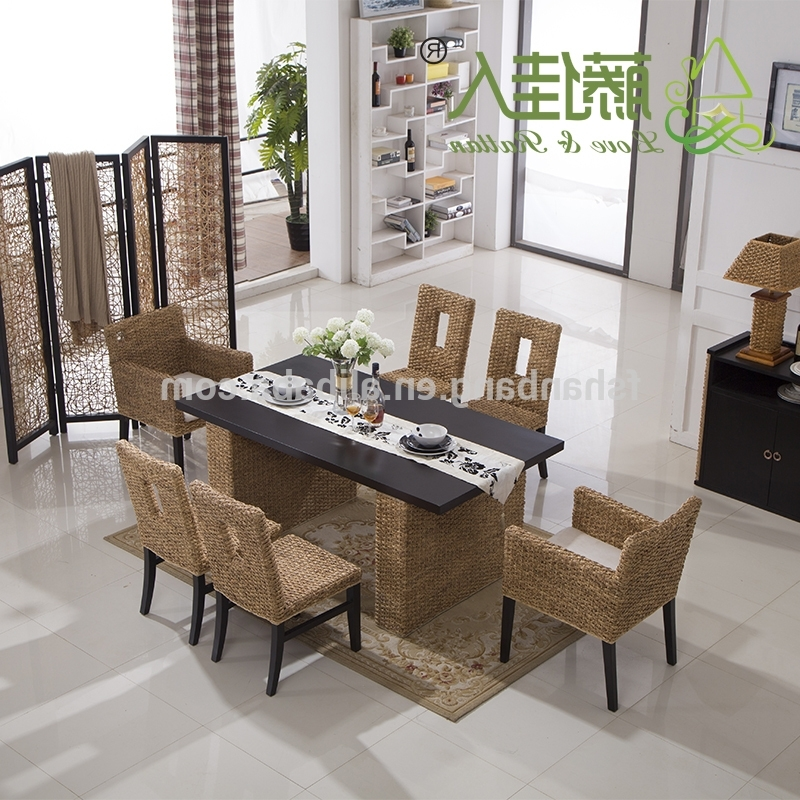 Bali Dining Sets With Regard To Current Bali Round Table And Chair Set Rattan Dining Set Wicker – Buy Round (View 6 of 20)