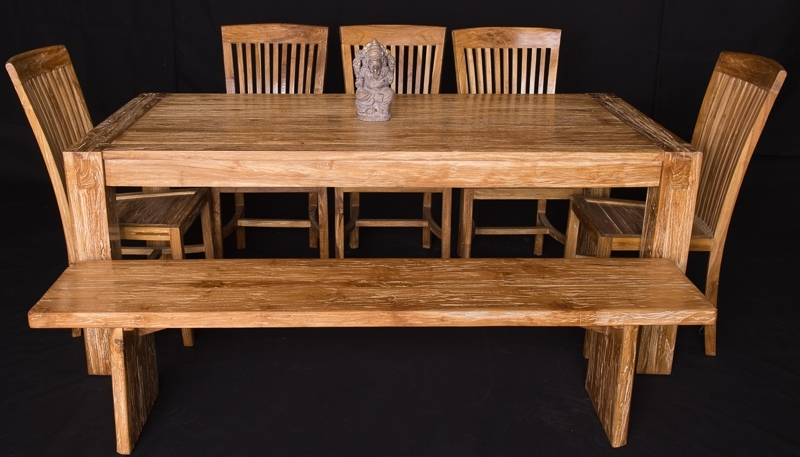 Bali Teak Furniture Portland Quality Wood Indoor Dining Tables Inside Popular Bali Dining Tables (View 9 of 20)