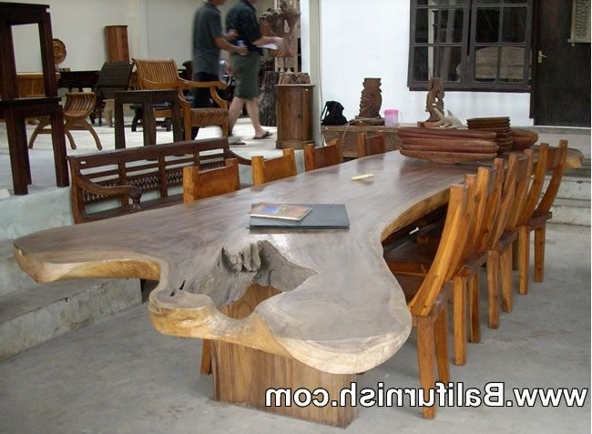 Balinese Dining Tables With Most Current Large Dining Table Teak Wood Furniture From Bali Indonesia Outdoor (View 3 of 20)