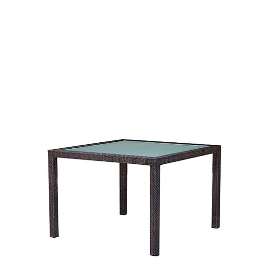 Barcelona Dining Table Square 100 – Chestnut (View 9 of 20)