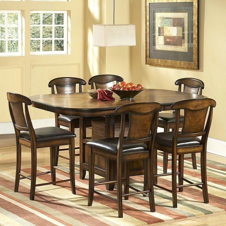 Bardstown Dining Set Home Creek 6 Piece Counter Height Dining Table Pertaining To Most Recent Bradford 7 Piece Dining Sets With Bardstown Side Chairs (View 2 of 20)