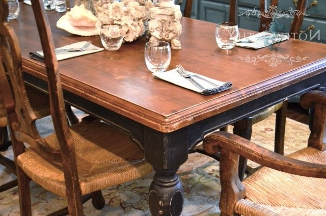 Barn House Dining Tables In Well Known Black Farm House Dining Table Love Love Love The Old English Feel Of (View 17 of 20)