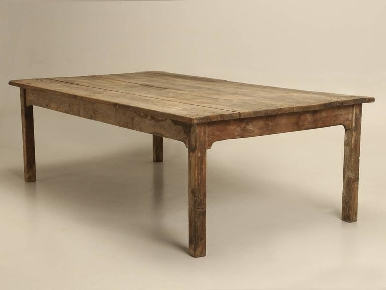 Barn House Dining Tables Pertaining To 2017 Antique Farm House Dining Table From France For 12 At 1stdibs (View 16 of 20)