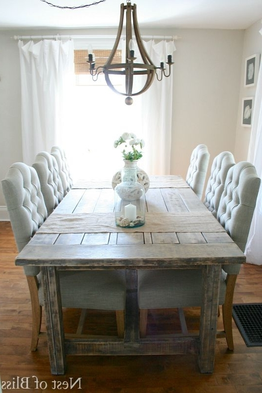 Barn House Dining Tables Regarding Popular Dining Room Farm Tables – Dining Table Furniture Design (View 13 of 20)