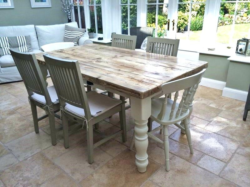 Barn House Dining Tables Throughout 2017 Most Popular Farmhouse Dining Room Tables For With Farm House Dining (View 10 of 20)