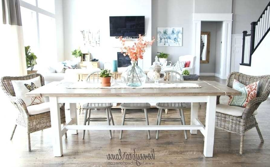 Barn House Dining Tables With Regard To Most Up To Date Farm House Dining Tables Distressed Farmhouse Dining Table Farmhouse (View 15 of 20)