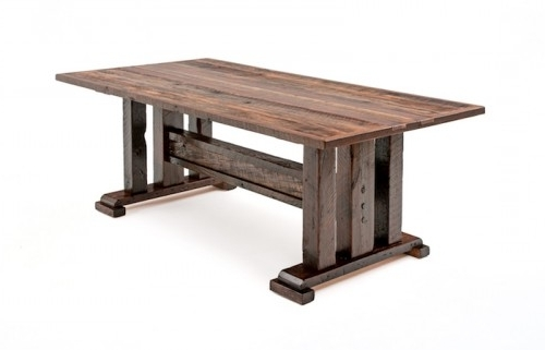 Barnwood Dining Tables (View 3 of 20)