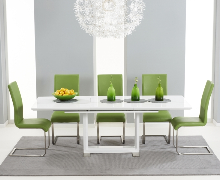 [%Beckley 160Cm 220Cm White Extending Dining Table [255300] – £549.00 With Regard To Well Known Black Gloss Dining Room Furniture|Black Gloss Dining Room Furniture Inside Most Recently Released Beckley 160Cm 220Cm White Extending Dining Table [255300] – £549.00|Most Popular Black Gloss Dining Room Furniture Throughout Beckley 160Cm 220Cm White Extending Dining Table [255300] – £549.00|Preferred Beckley 160Cm 220Cm White Extending Dining Table [255300] – £ (View 1 of 20)