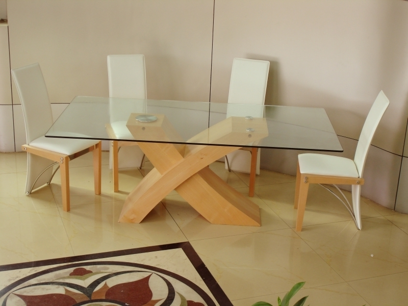 Beech Dining Tables And Chairs Inside Newest Arizona Beech Dining Set, Arizona Glass Dining Set (View 5 of 20)