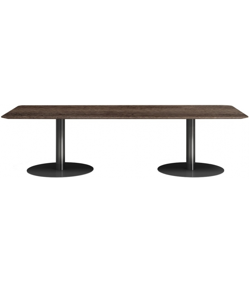 Bellagio Dining Pewter Minotti Table – Milia Shop With Famous Bellagio Dining Tables (View 3 of 20)