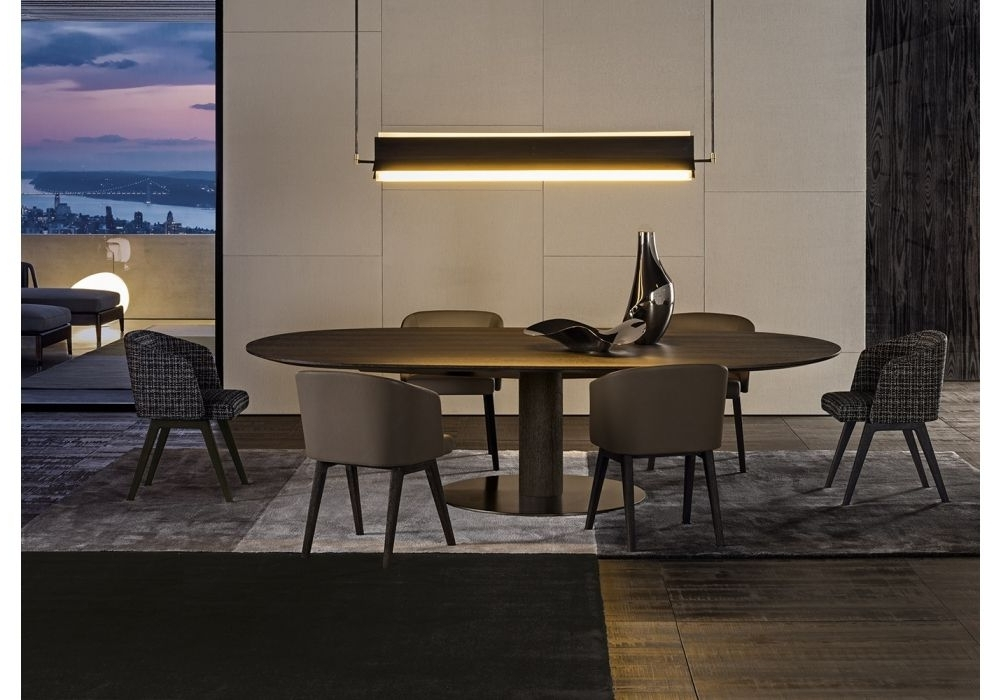 Bellagio Dining Tables With Recent Bellagio Dining Wood Minotti Table (View 7 of 20)