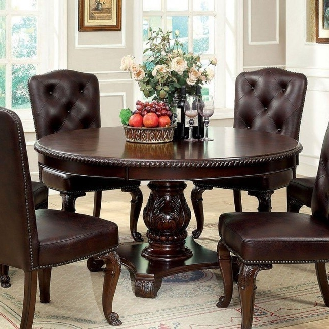 Bellagio Round Dining Table – Dining Room And Kitchen Furniture – Dining With Popular Bellagio Dining Tables (View 10 of 20)