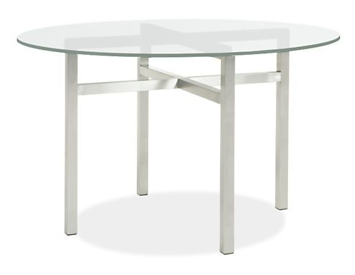 Benson Dining Tables In Stainless Steel – Modern Dining Tables Within Most Up To Date Benson Rectangle Dining Tables (View 4 of 20)