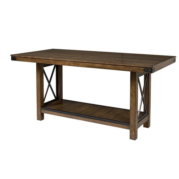 Benson Rectangle Dining Tables Intended For Trendy Benson Counter Height Dining Table – Free Shipping Today – Overstock (View 6 of 20)