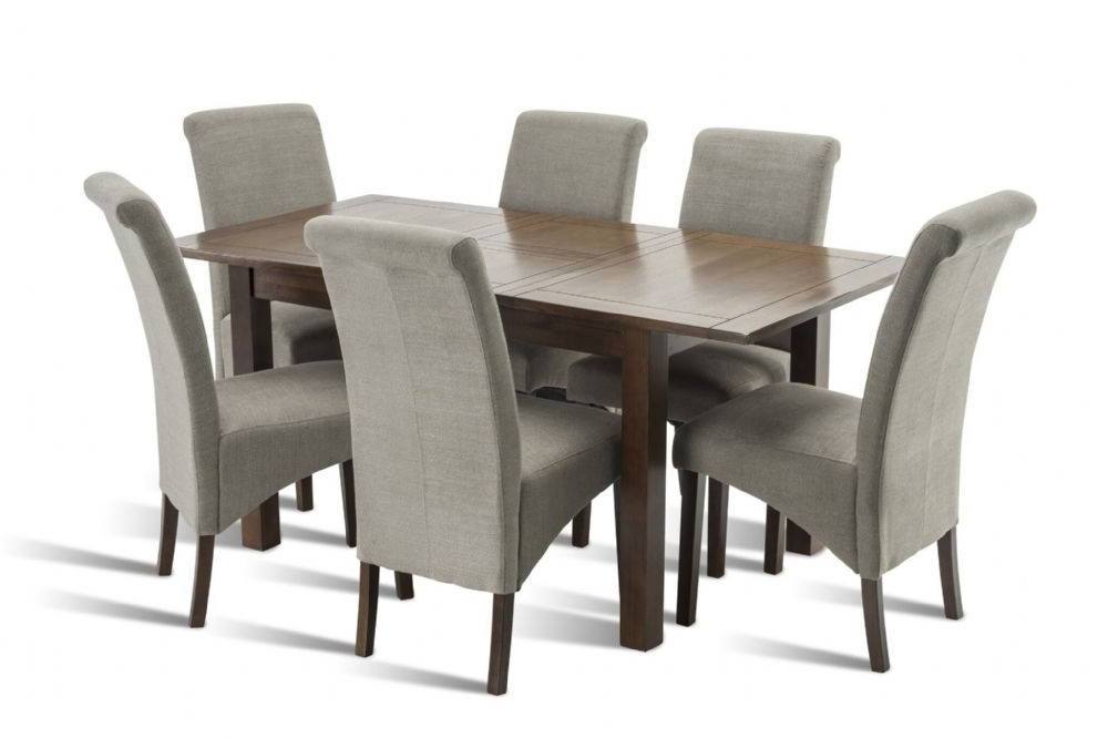 Benson Rich Walnut Dining Table For Widely Used Benson Rectangle Dining Tables (View 10 of 20)