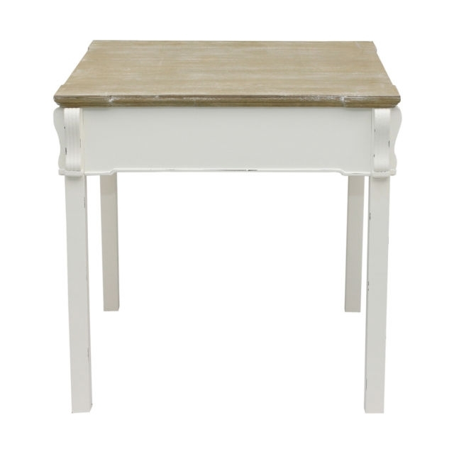 Bentley Home Shabby Chic Dining Table Vintage French Style – White Throughout Latest French Chic Dining Tables (View 2 of 20)