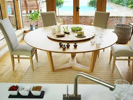 Bespoke Contemporary Tables Within Large Circular Dining Tables (View 2 of 20)