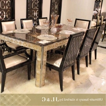 Best And Newest 2014 10 Seater Dining Table For Dining With Marble Or Wooden Top Inside 10 Seat Dining Tables And Chairs (View 9 of 20)