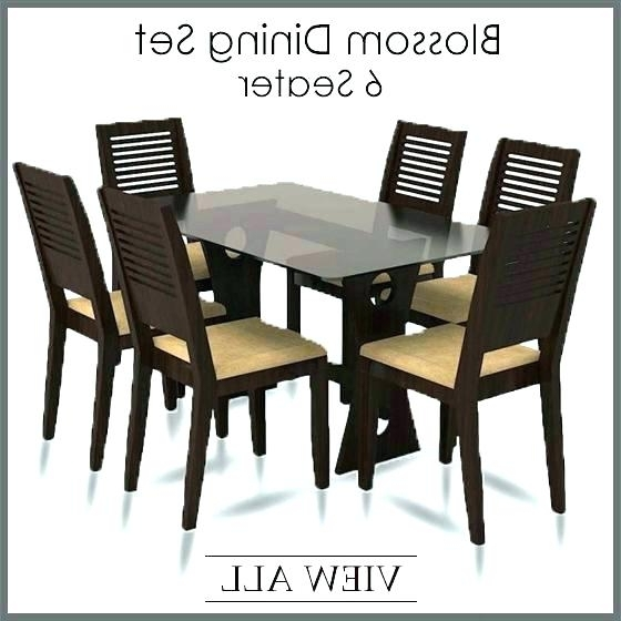 Best And Newest 6 Chairs Dining Table 6 Table And Chairs 6 Chair Dining Set 6 Dining Regarding Dining Tables And Six Chairs (View 3 of 20)