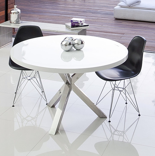 Best And Newest 7 White Round Modern Dining Tables – Cute Furniture For White Circle Dining Tables (View 1 of 20)