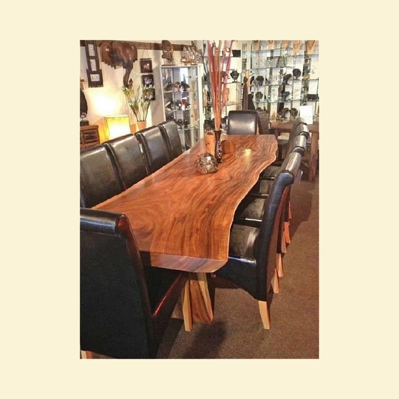 Best And Newest Acacia Dining Tables With 3m Acacia Wood Dining Table – Mango Crafts Furniture Creations (View 10 of 20)