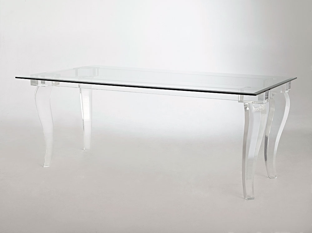 Best And Newest Acrylic Dining Tables With Valencia Acrylic Dining Table (View 8 of 20)