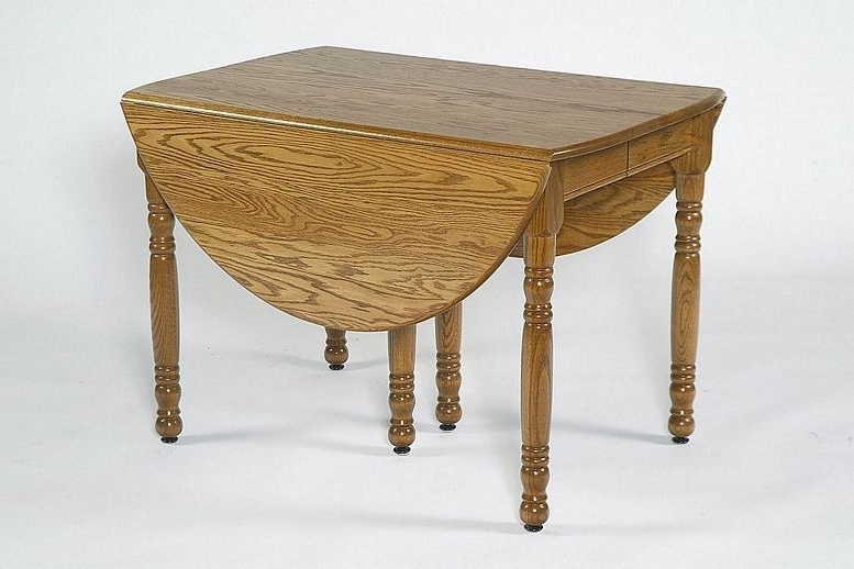 Best And Newest Amish Oval Drop Leaf Dining Table (View 2 of 20)