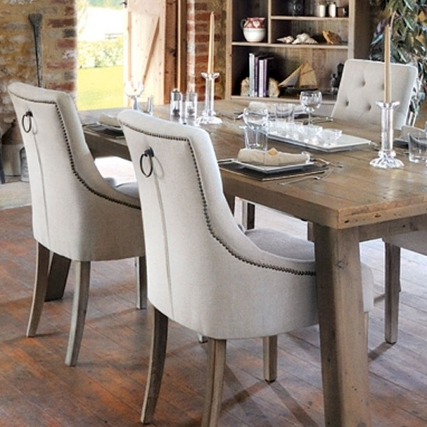 Best And Newest Bainton Cream Button Back Dining Chair – Wooden Furniture Store Pertaining To Button Back Dining Chairs (View 20 of 20)