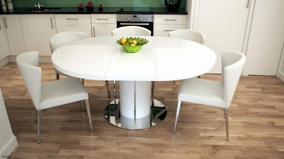 Best And Newest Black High Gloss Dining Table And Chairs New 48 Beautiful Round Inside Round High Gloss Dining Tables (View 16 of 20)