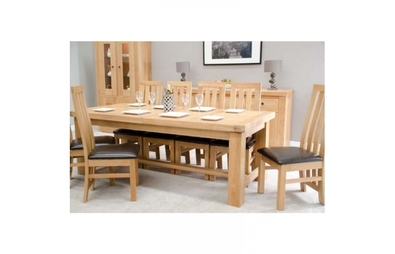 Best And Newest Bordeaux Oak Grand 220 Dining Table (View 2 of 20)