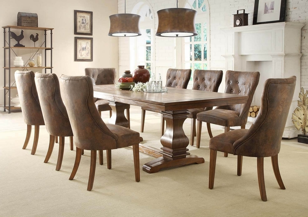 Featured Photo of Partridge 7 Piece Dining Sets