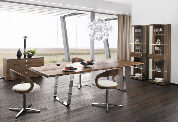 Best And Newest Contemporary Dining Furniture In Contemporary Dining Furniture Bristol — Contemporary Furniture (View 4 of 20)