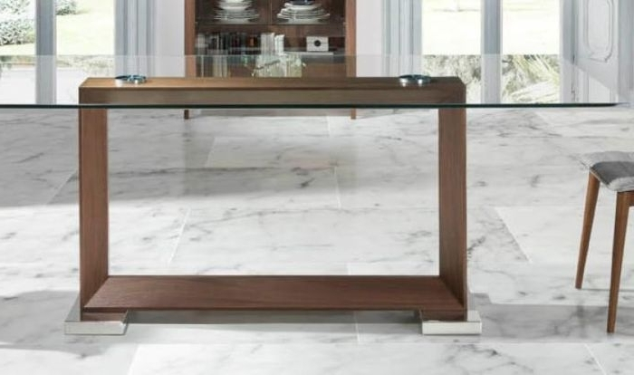 Best And Newest Contemporary Glass Dining Table (View 2 of 20)