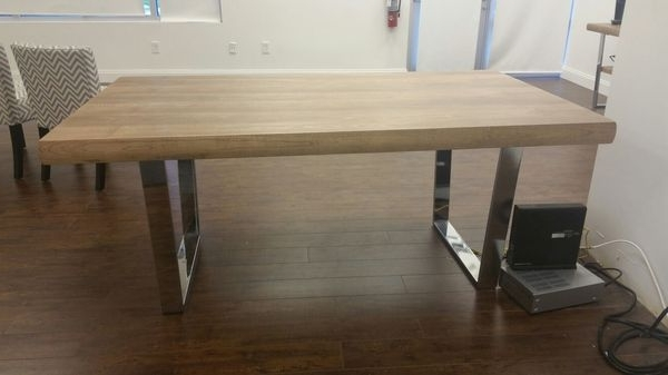 Best And Newest Crawford Rectangle Dining Tables Regarding I Have A Cindy Crawford Home San Francisco Ash Rectangle Dining (View 4 of 20)