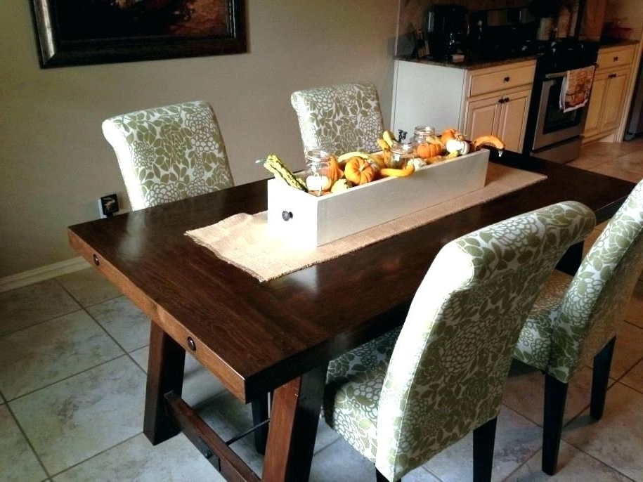 Best And Newest Dark Wood Dining Tables In Pottery Barn Round Dining Table – Chirad (View 1 of 20)
